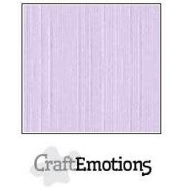 Craft Emotions CraftEmotions linnenkarton  lavendel-pastel 30,0x30,0cm