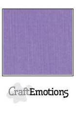 CraftEmotions linnenkarton  lavendel 30,0x30,0cm