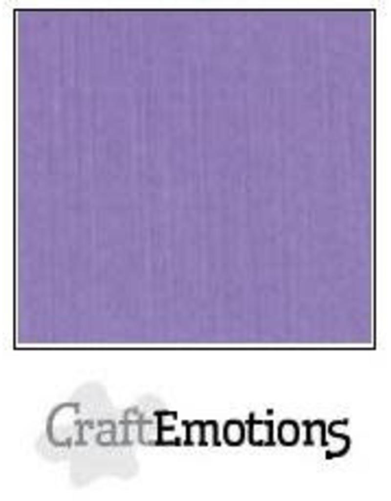 Craft Emotions CraftEmotions linnenkarton  lavendel 30,0x30,0cm
