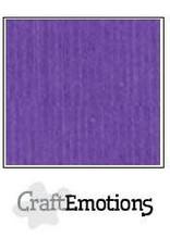CraftEmotions linnenkarton  Purperviolet 30,0x30,0cm