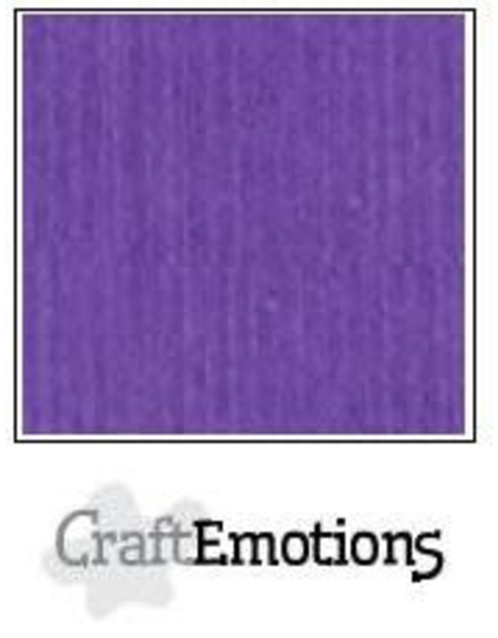 Craft Emotions CraftEmotions linnenkarton  Purperviolet 30,0x30,0cm