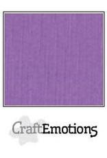 CraftEmotions linnenkarton 10 vel paars 30,0x30,0cm