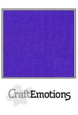 Craft Emotions CraftEmotions linnenkarton  donkerpaars 30,0x30,0cm