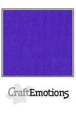 CraftEmotions linnenkarton 10 vel donkerpaars 30,0x30,0cm