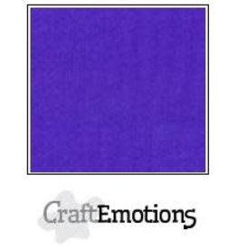 Craft Emotions CraftEmotions linnenkarton  donkerpaars 30,0x30,0cm