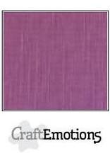 Craft Emotions CraftEmotions linnenkarton purper 30,0x30,0cm