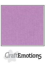 Craft Emotions CraftEmotions linnenkarton  lila 30,0x30,0cm