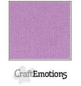 CraftEmotions linnenkarton 10 vel lila 30,0x30,0cm