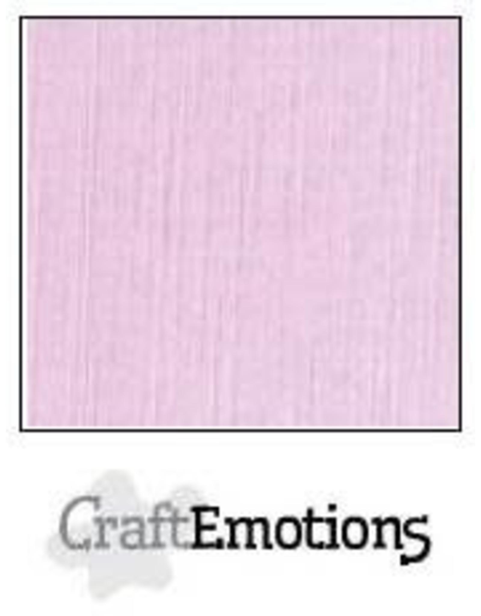 Craft Emotions CraftEmotions linnenkarton  zacht lila 30,0x30,0cm