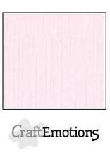 CraftEmotions linnenkarton 10 vel babyroze 30,0x30,0cm