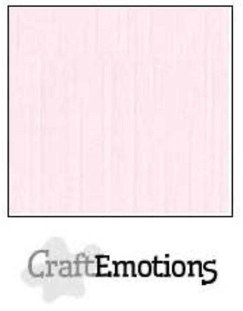 CraftEmotions linnenkarton  babyroze 30,0x30,0cm