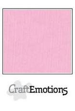 CraftEmotions linnenkarton 10 vel roze 30,0x30,0cm
