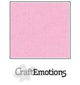 Craft Emotions CraftEmotions linnenkarton roze 30,0x30,0cm
