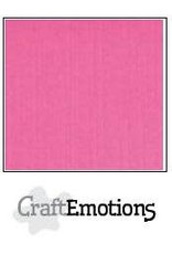 Craft Emotions CraftEmotions linnenkarton magenta 30,0x30,0cm