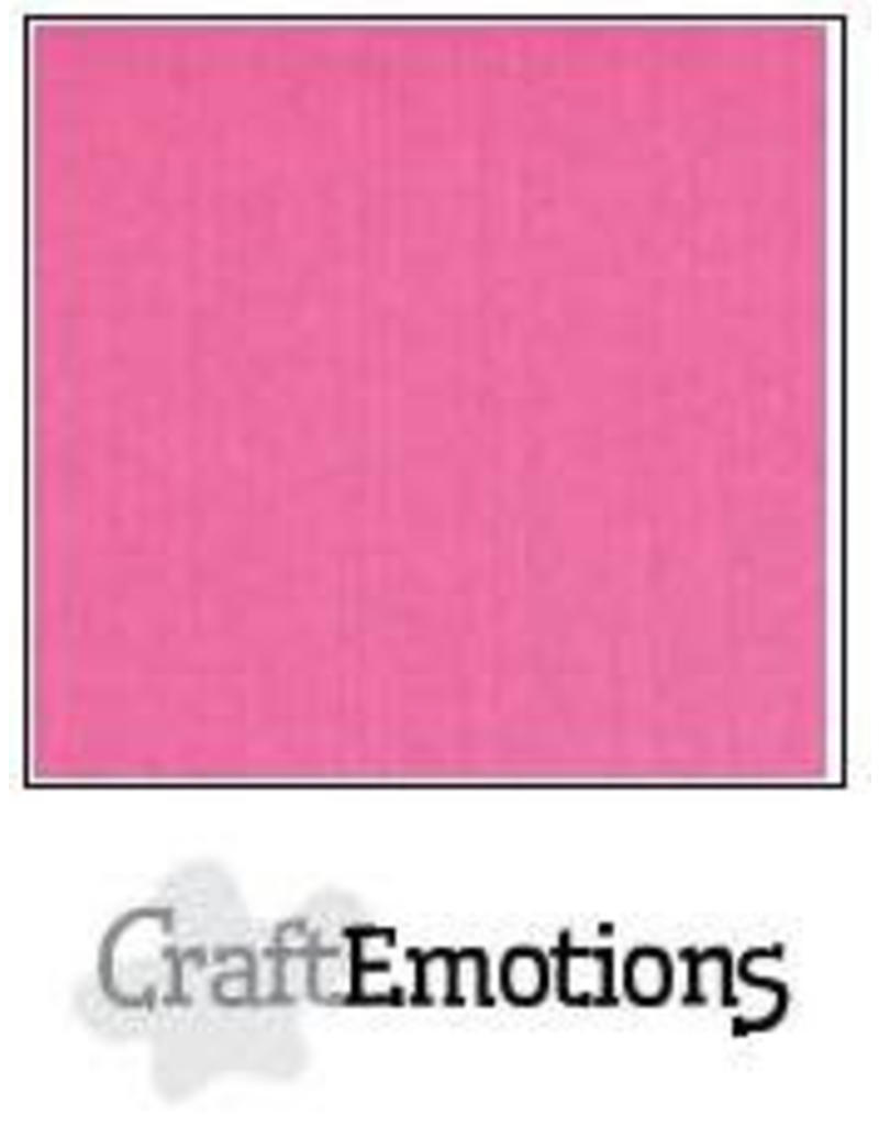 Craft Emotions CraftEmotions linnenkarton magenta 30,0x30,0cm