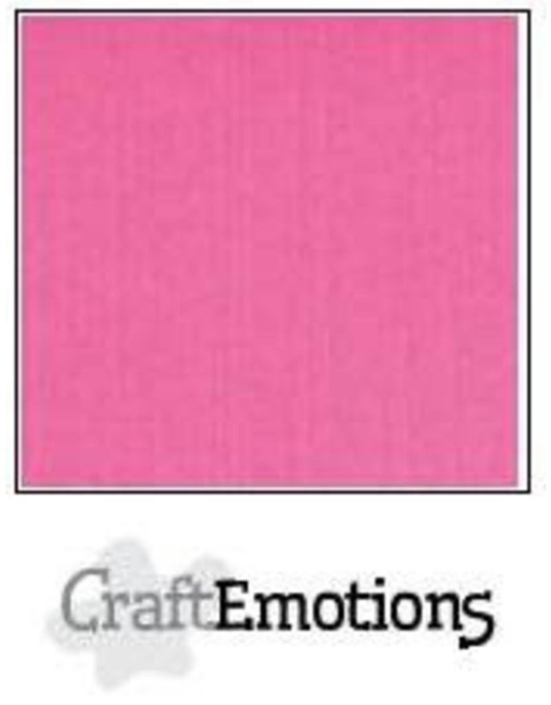 CraftEmotions linnenkarton magenta 30,0x30,0cm