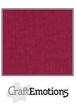 CraftEmotions linnenkarton 10 vel bordeaux 30,0x30,0cm