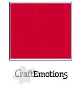 CraftEmotions linnenkarton 10 vel vuurrood 30,0x30,0cm