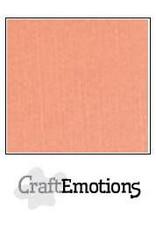 Craft Emotions CraftEmotions linnenkarton zalm 30,0x30,0cm