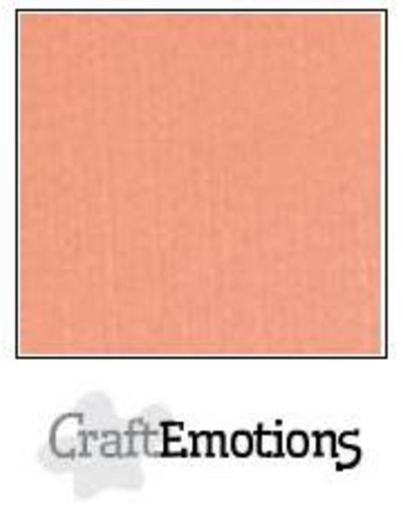 CraftEmotions linnenkarton zalm 30,0x30,0cm