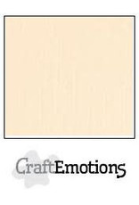 CraftEmotions linnenkarton 10 vel zand 30,0x30,0cm