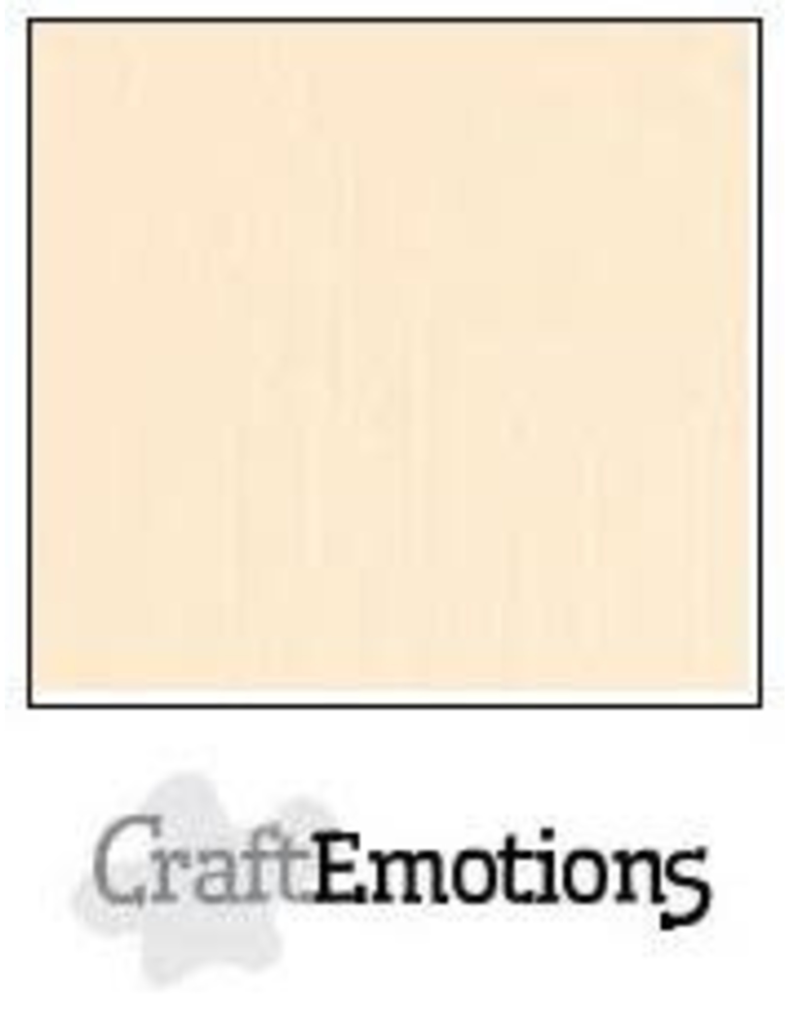 Craft Emotions CraftEmotions linnenkarton  zand 30,0x30,0cm