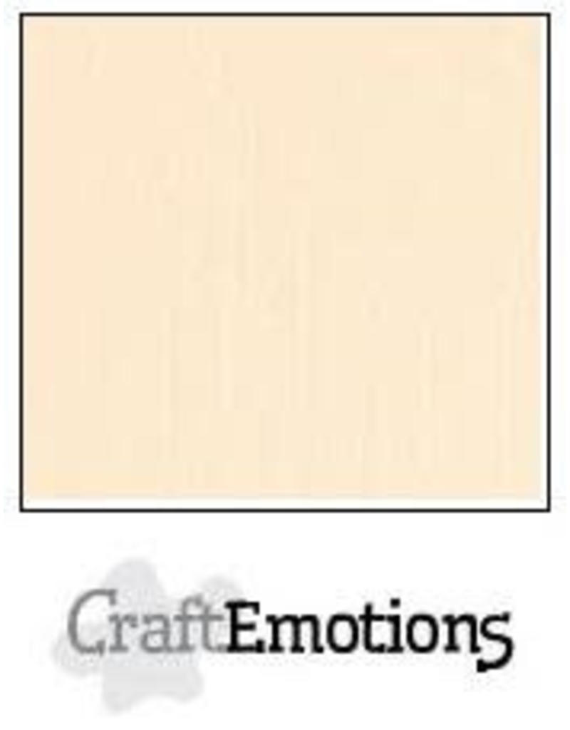 CraftEmotions linnenkarton  zand 30,0x30,0cm