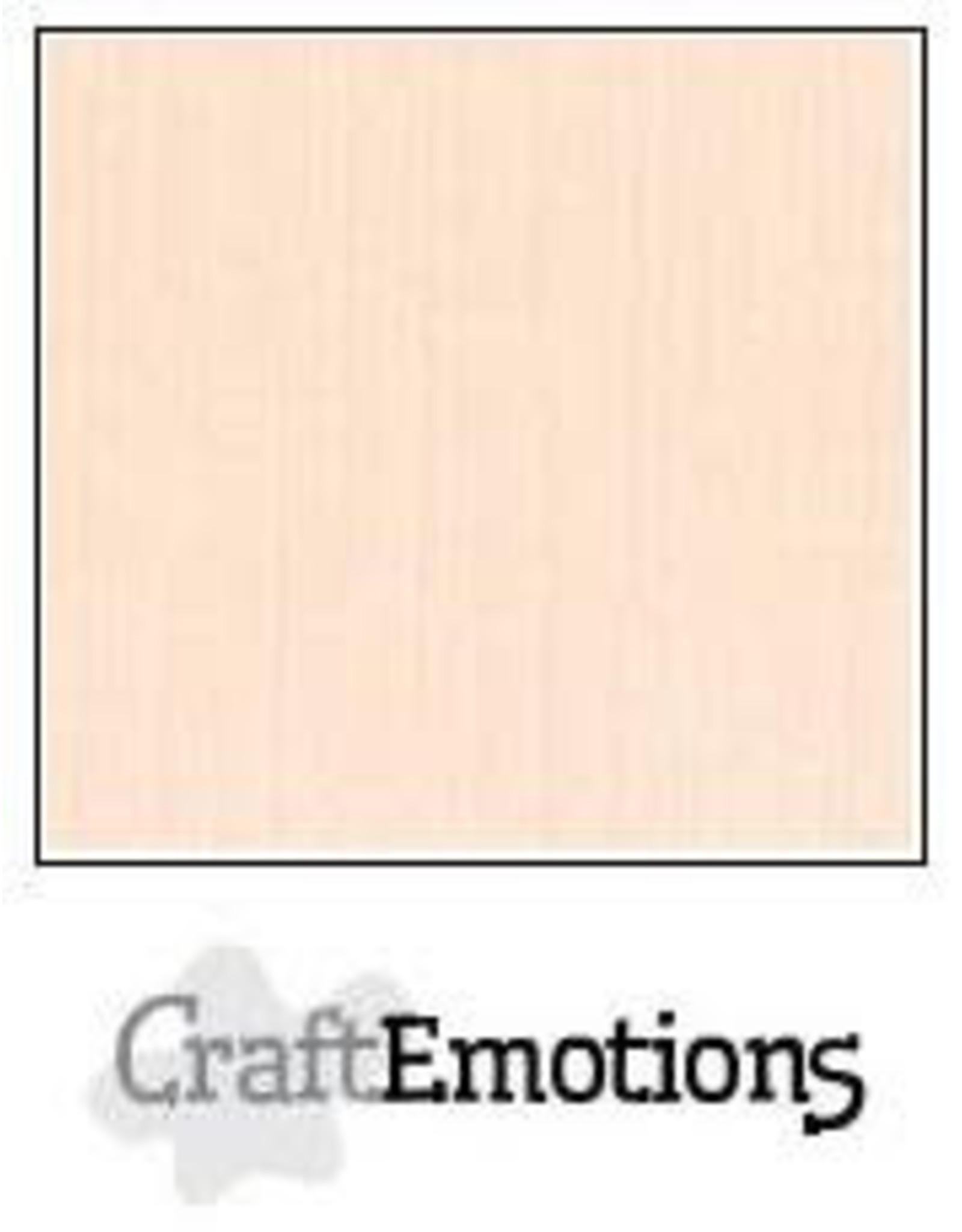 Craft Emotions CraftEmotions linnenkarton  crème 30,0x30,0cm