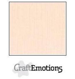 CraftEmotions linnenkarton 10 vel crème 30,0x30,0cm