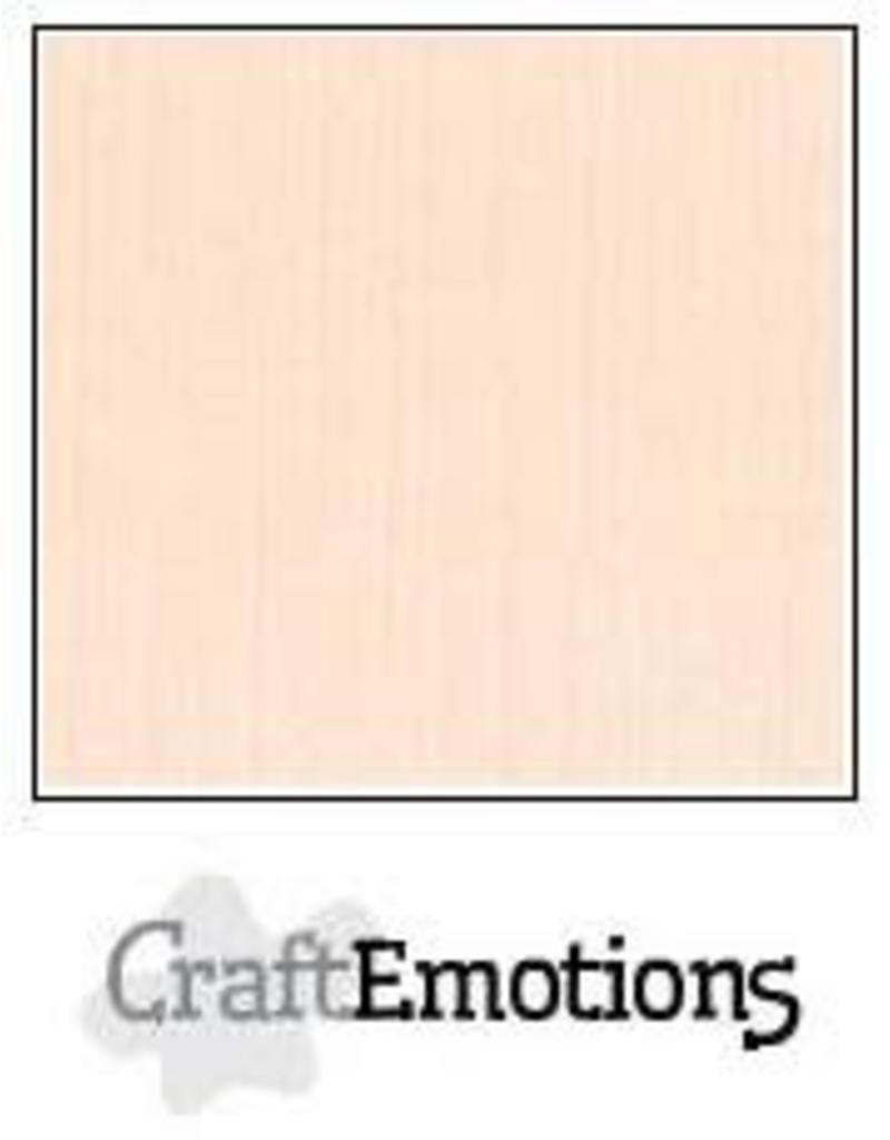 CraftEmotions linnenkarton  crème 30,0x30,0cm