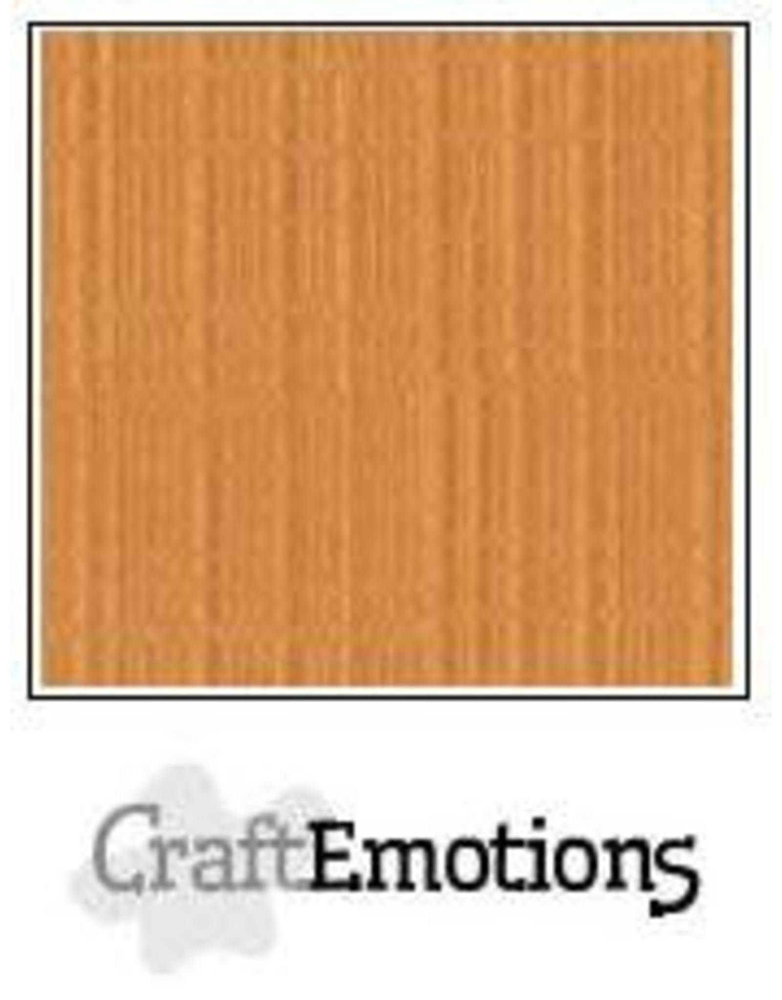 Craft Emotions CraftEmotions linnenkarton  toffee 30,0x30,0cm