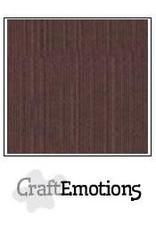 Craft Emotions CraftEmotions linnenkarton  koffie 30,0x30,0cm