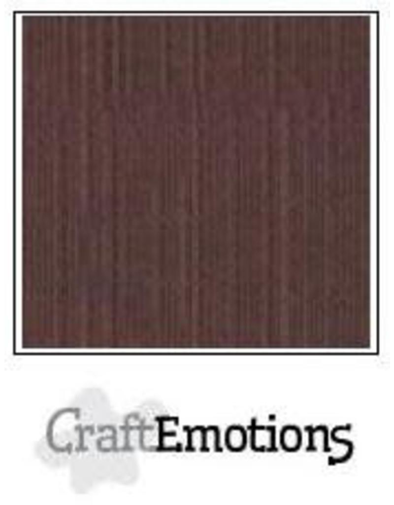 CraftEmotions linnenkarton  koffie 30,0x30,0cm