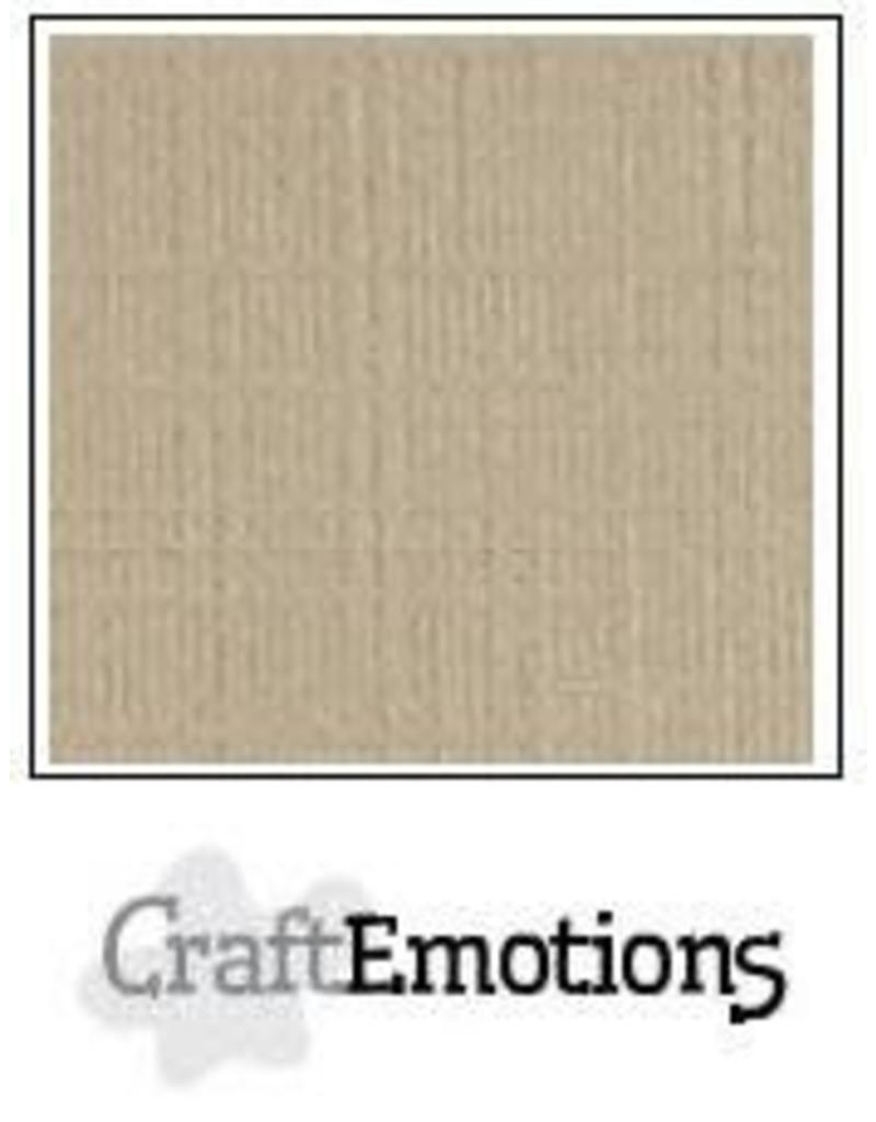 CraftEmotions linnenkarton lever 30,0x30,0cm