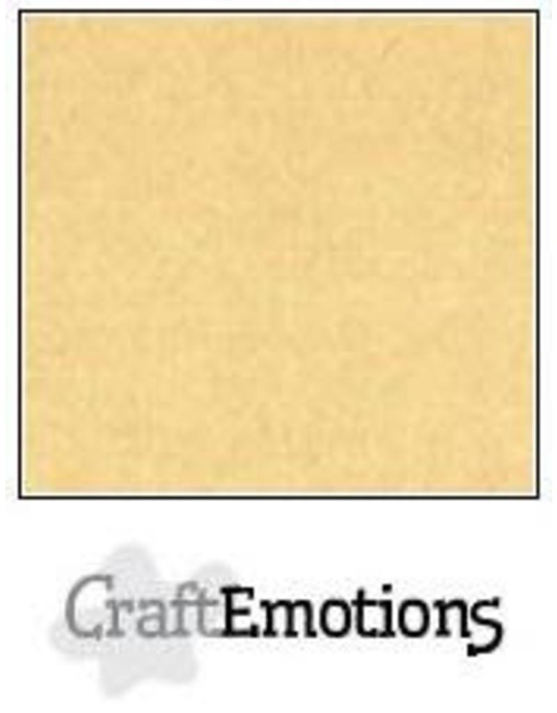 CraftEmotions linnenkarton honing (kraft) 30,0x30,0cm