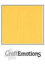 CraftEmotions linnenkarton goudgeel 30,0x30,0cm