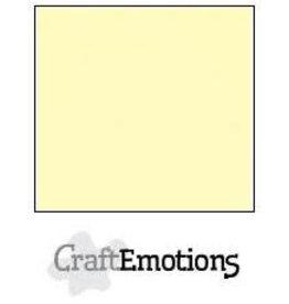 Craft Emotions CraftEmotions linnenkarton lichtgeel 30,0x30,0cm