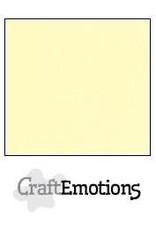 CraftEmotions linnenkarton  geel 30,0x30,0cm
