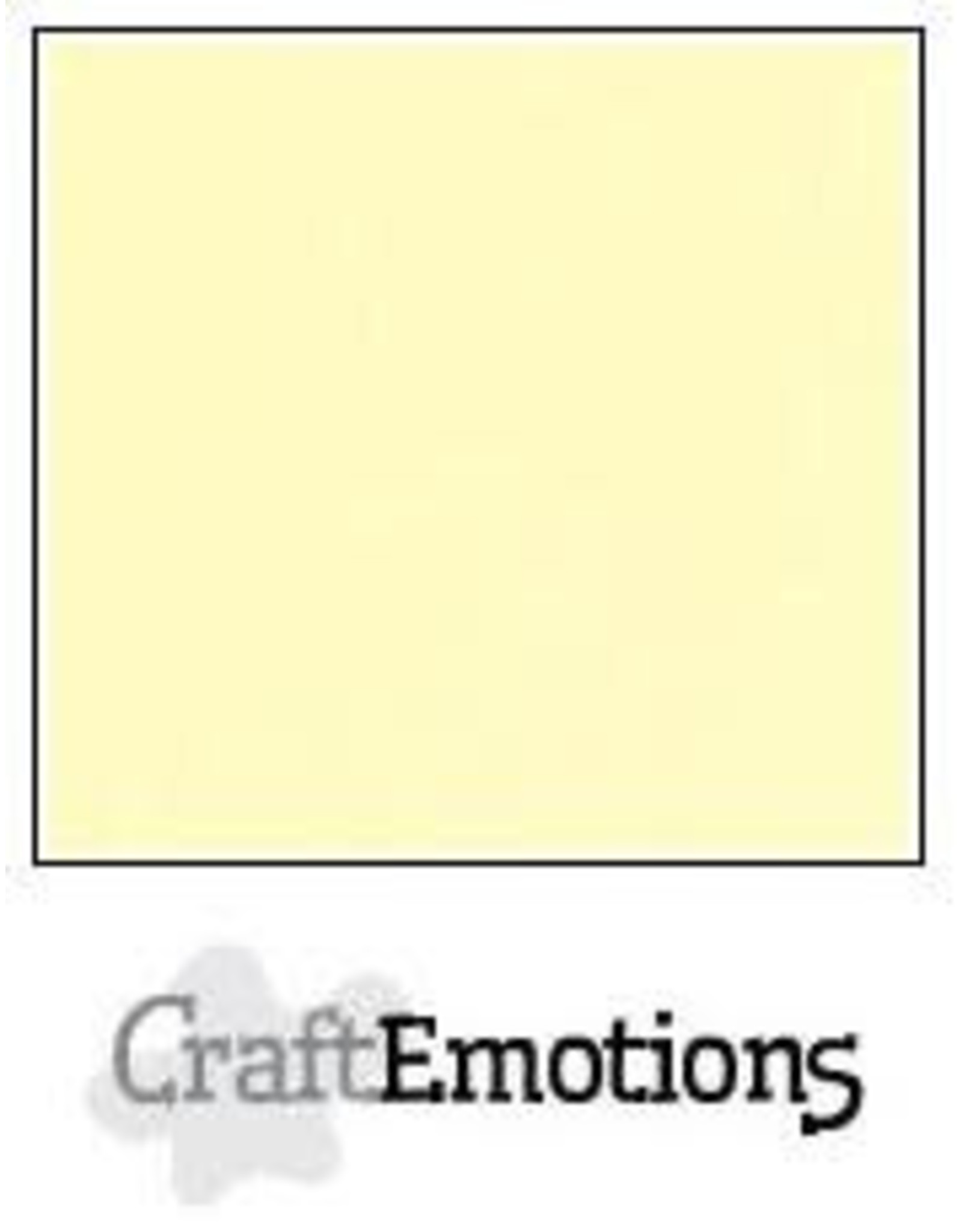 Craft Emotions CraftEmotions linnenkarton  geel 30,0x30,0cm