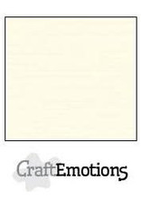 CraftEmotions linnenkarton  ivoor 30,0x30,0cm