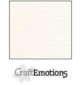 CraftEmotions linnenkarton 10 vel champagne 30,0x30,0cm