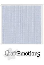 CraftEmotions linnenkarton klassiek wit 30,0x30,0cm