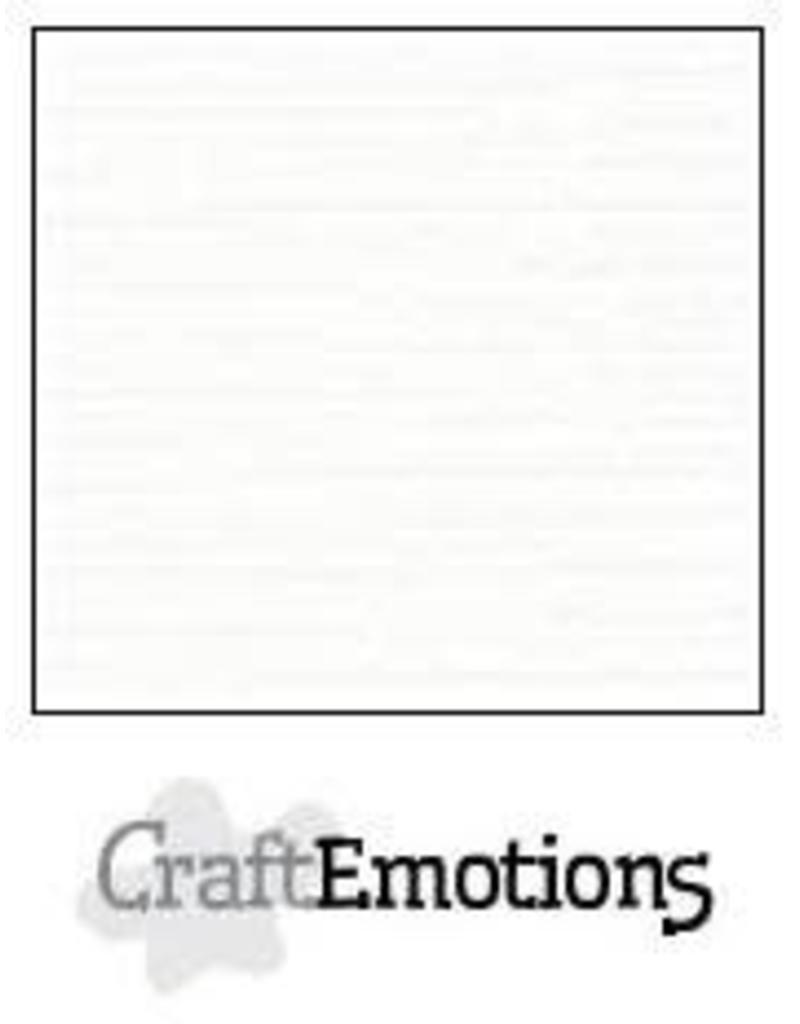 CraftEmotions linnenkarton wit 30,0x30,0cm