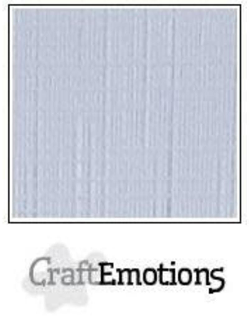 CraftEmotions linnenkarton 10 vel diamant wit 30,0x30,0cm