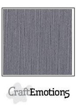 Craft Emotions CraftEmotions linnenkarton  graniet grijs 30,0x30,0cm