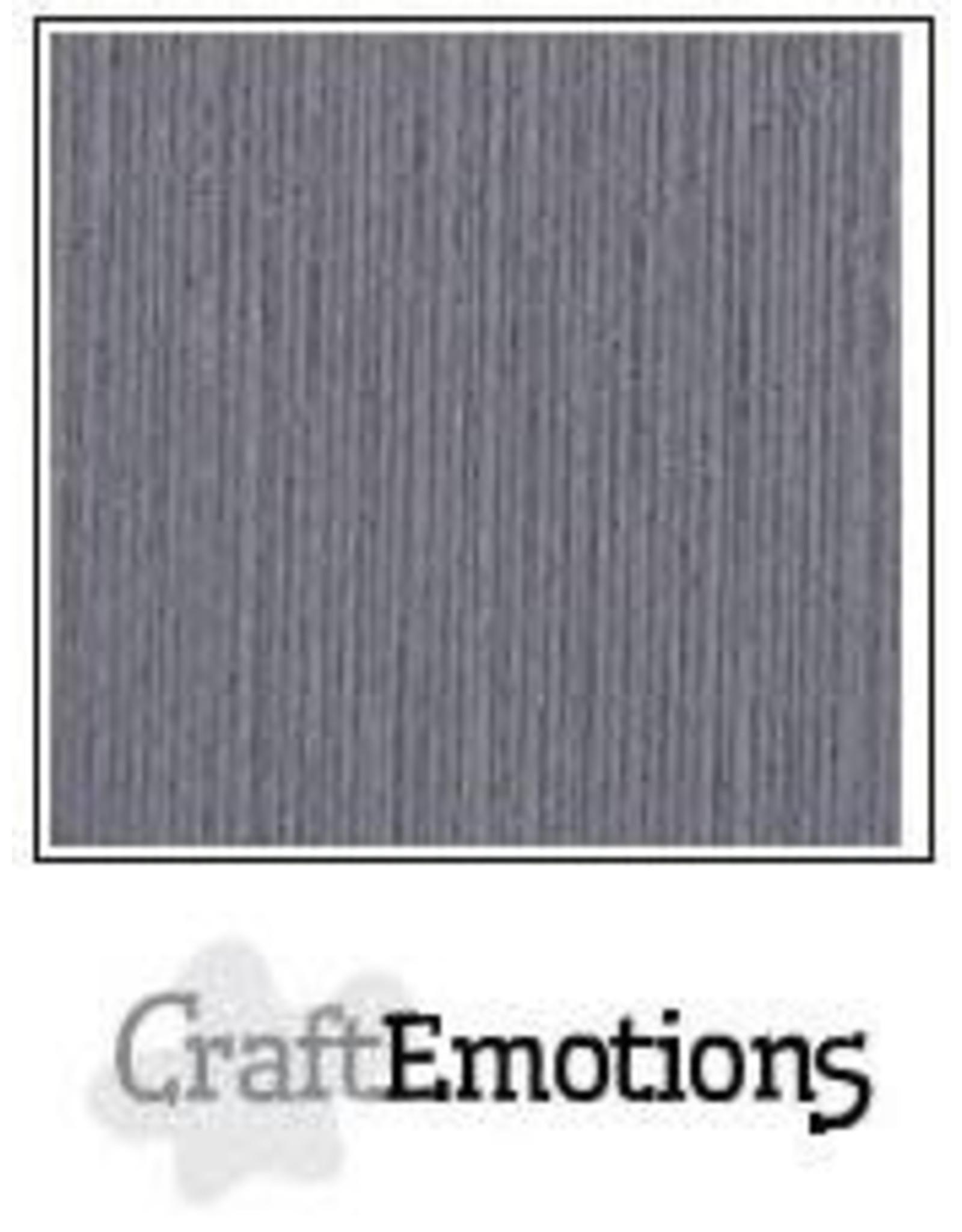 Craft Emotions CraftEmotions linnenkarton  graniet grijs 30,0x30,0cm