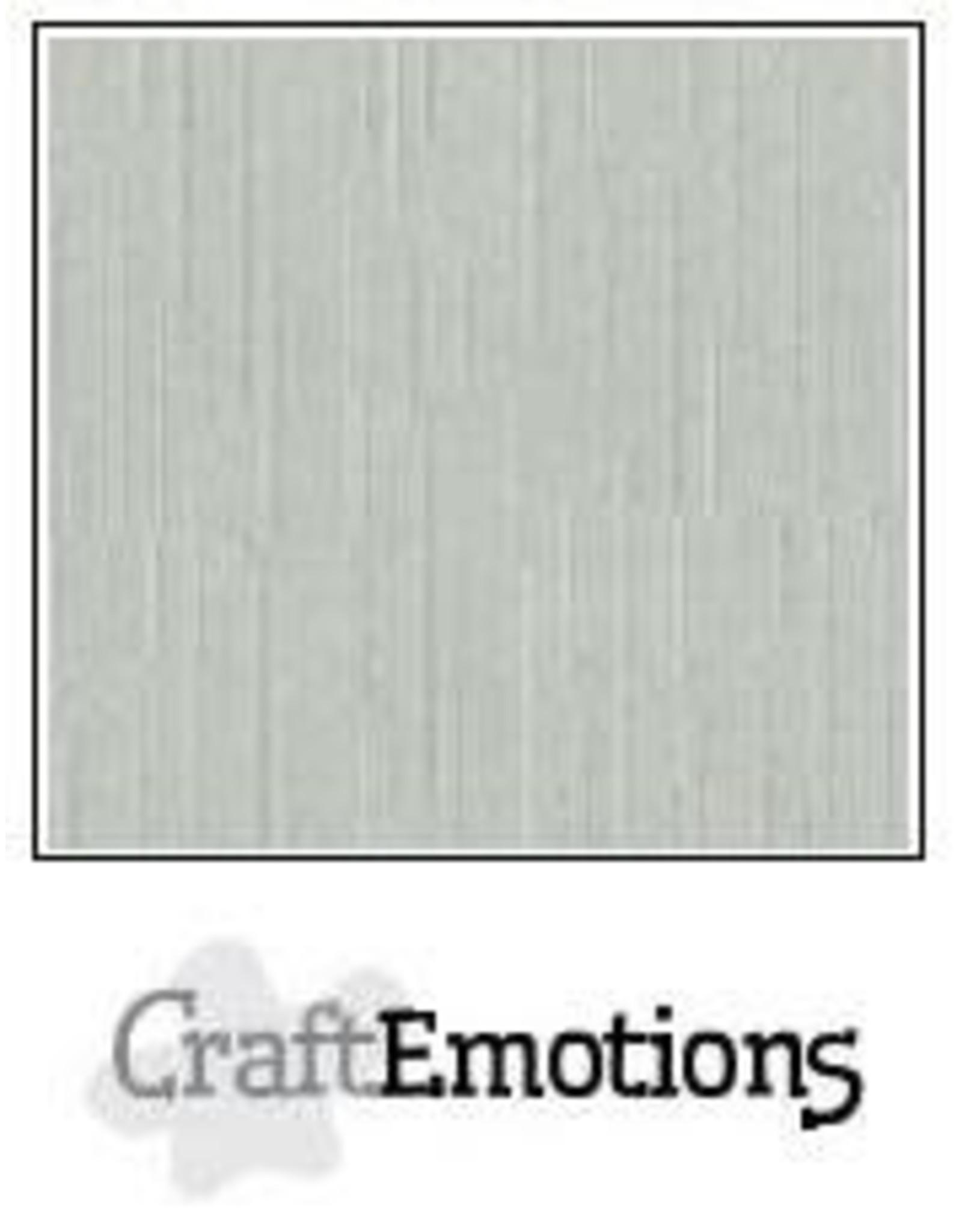 Craft Emotions CraftEmotions linnenkarton  titanium 30,0x30,0cm