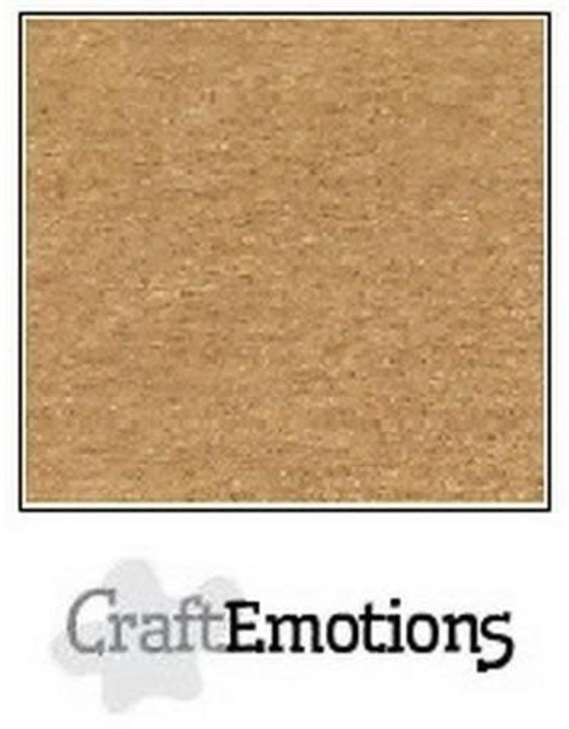 Craft Emotions CraftEmotions karton kraft lichtbruin A4 220GR