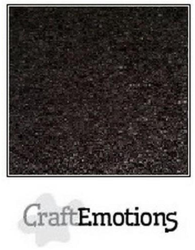 CraftEmotions karton kraft zwart  A4 220GR