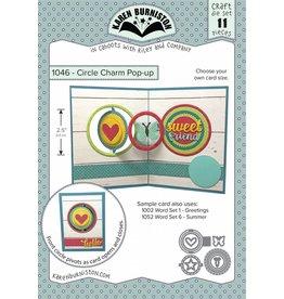 Karen Burniston Karen Burniston Circle Charm pop up 106
